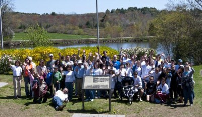 Earth Day Cleanup 2010 Group Photo