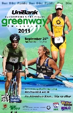 2011 Greenway Challenge Poster
