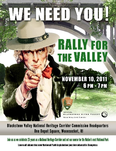 2011 Rally For The Valley Poster