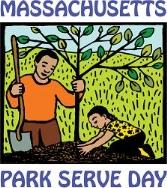 Massachusetts DCR Park Serve Day logo